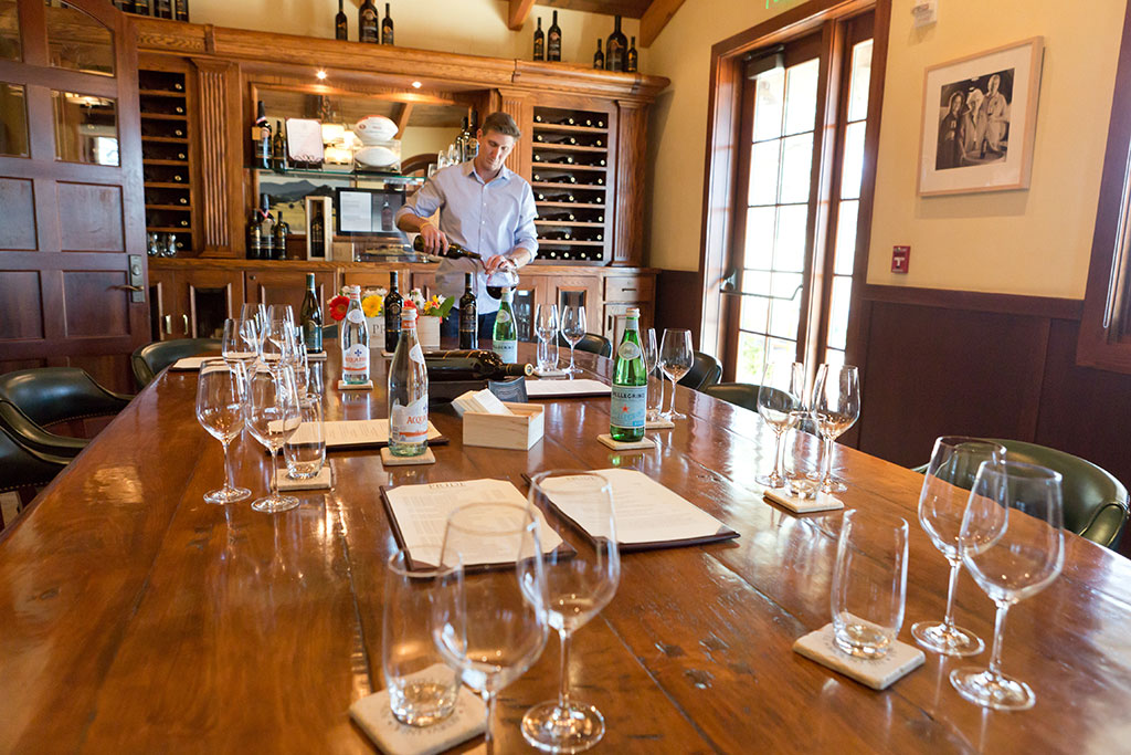 Tasting-only appointments for groups of seven to twelve guests